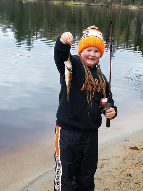 First fish of the year for the family! (3rd year in a row.)