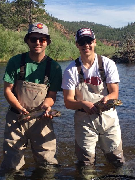 Fly fishing for the first time in Colorado