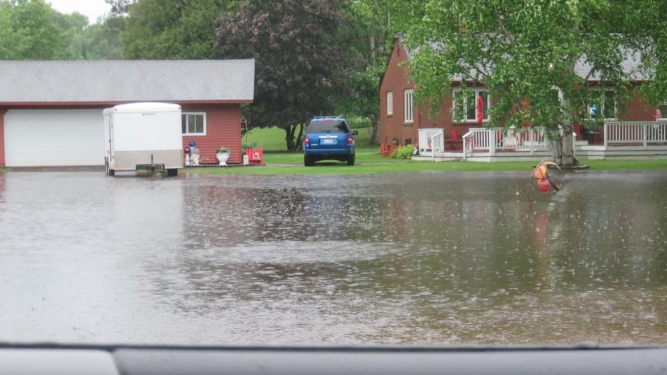 Ironwood township flooding on Friday