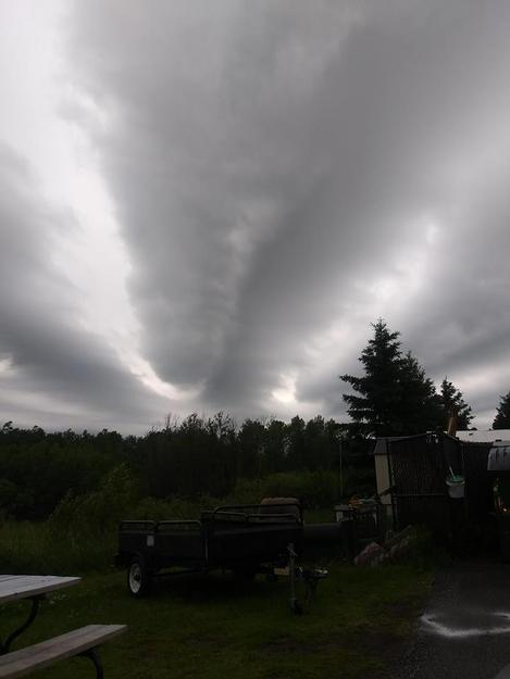 Sky over Hermantown on Friday