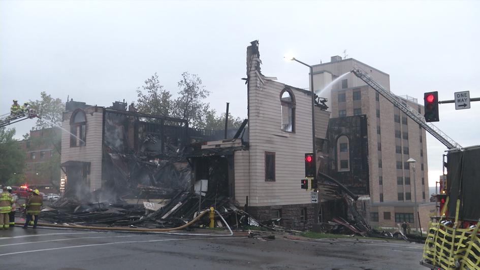 Fire at the Adas Israel synagogue in Duluth