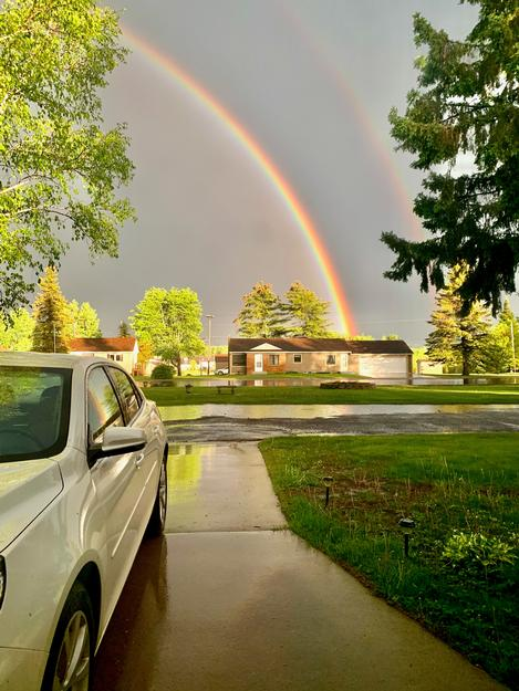 Right after the storm in Buhl 8pm May 30