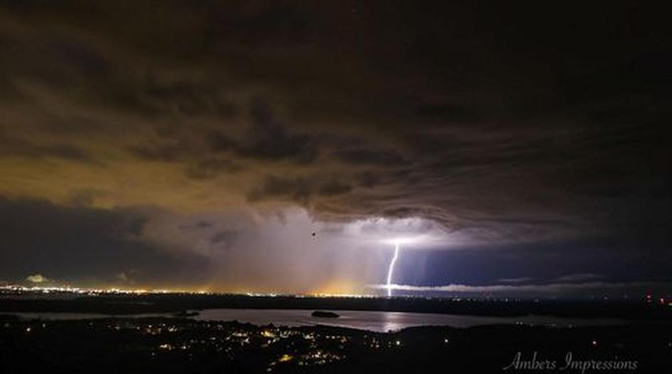 July 26th storm over Duluth and Superior