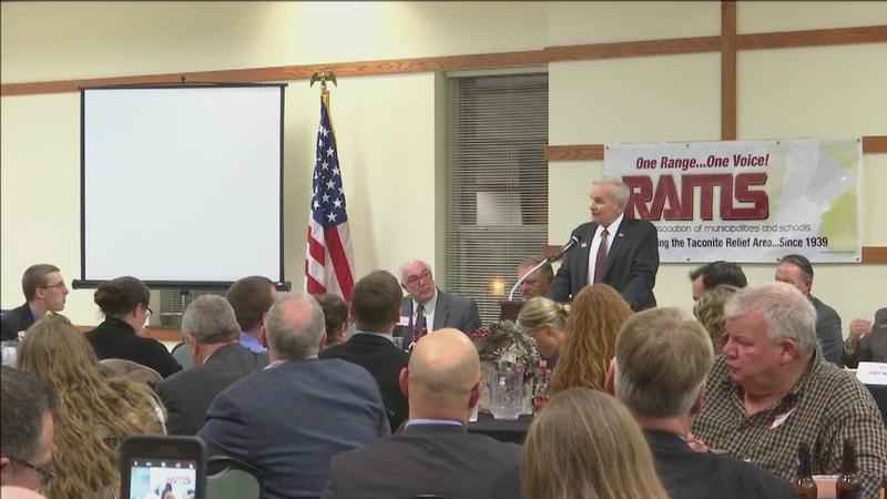 Gov. Dayton Talks with Local Leaders on Iron Range