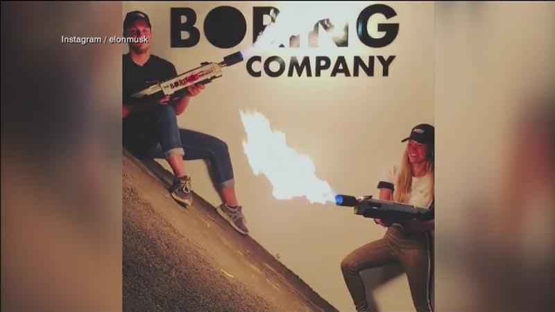 Elon Musk is selling flamethrowers from his 'Boring Company.'