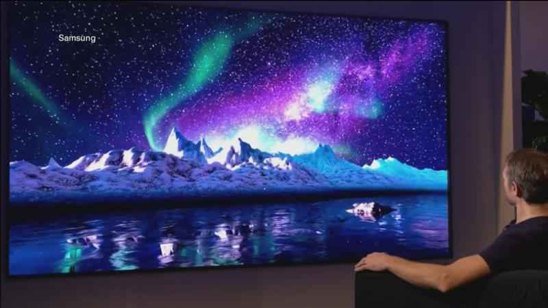 Samsung TV is getting early buzz at the Consumer Electronics Show.�
