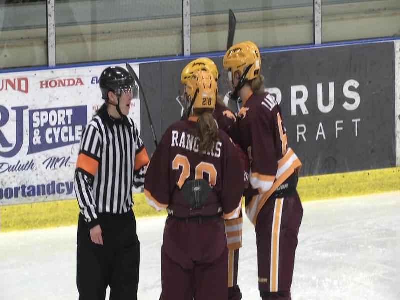 #5 Lake Forest Blanks Duluth Northern Stars 7-0