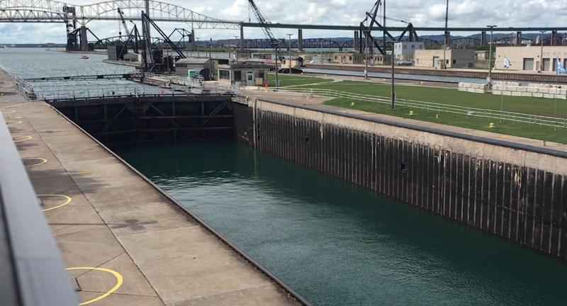 The Soo Locks have closed, signaling the end of the shipping season.