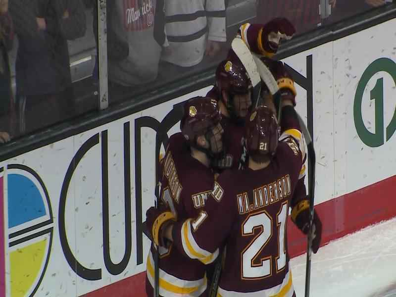UMD earns series sweep over Colorado College.