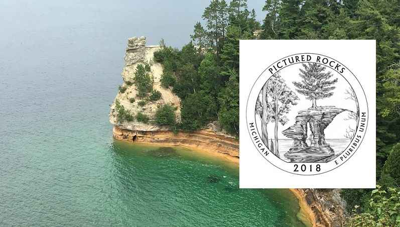Pictured Rocks National Lakeshore is the 41st park to be honored with a quarter.