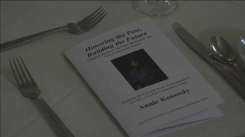 Clayton Jackson McGhie Memorial, Inc. held their eleventh�annual dinner on Saturday night,�honoring�a Duluth woman.