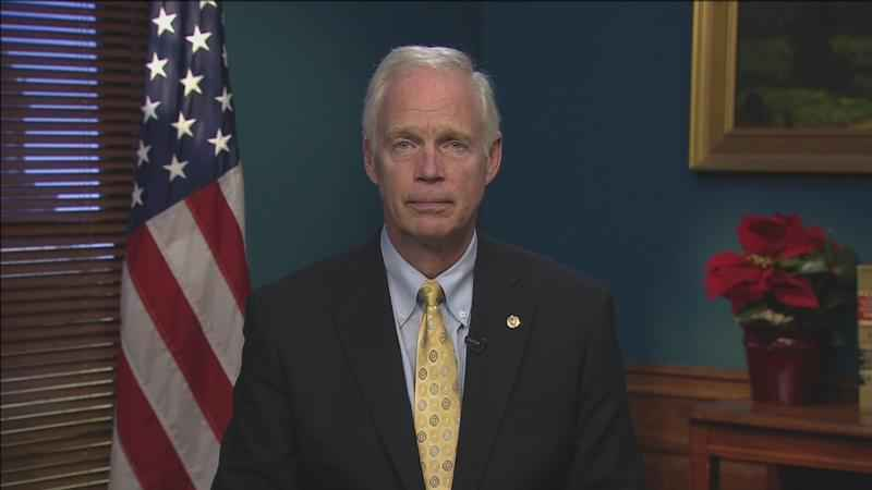 Sen. Ron Johnson�is calling President Donald Trump's steel and aluminum tariffs a