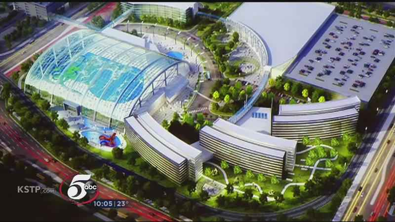 City officials are considering whether to allow a water park to be build next to the Mall of America in Bloomington.