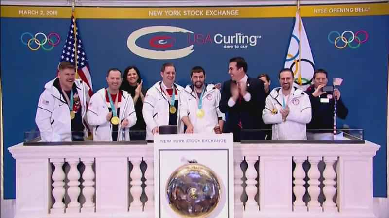 Team Usa Curlers Take The Big Apple Www Wdio Com