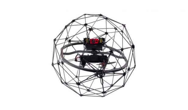 They will also buy a Flyability Elios drone with a protective frame.