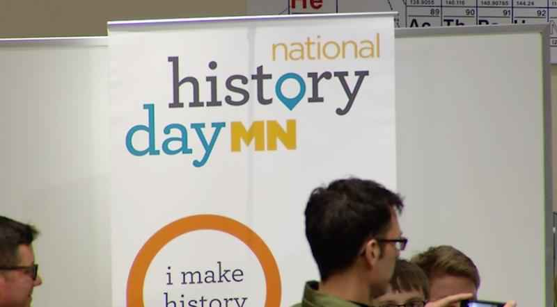Students from various northeast Minnesota schools presented history projects they have been working on for the Northeast History Day Competition on Saturday in Duluth.