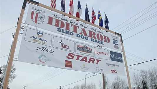 The Iditarod sled dog race is kicking off Sunday.