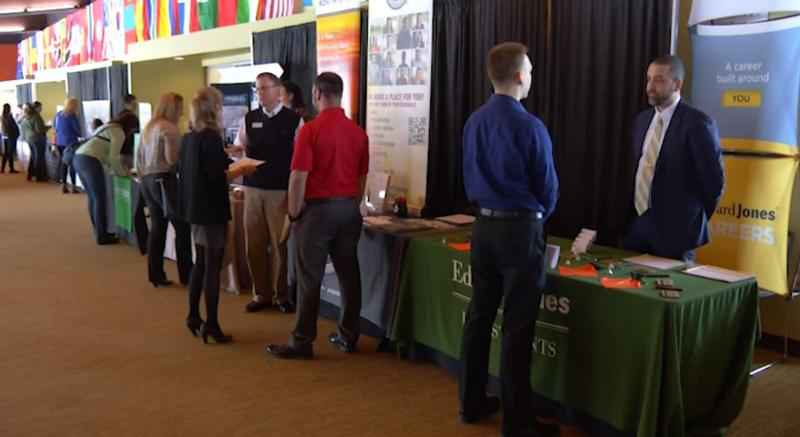 Students and community members attended the job and internship fair at UWS