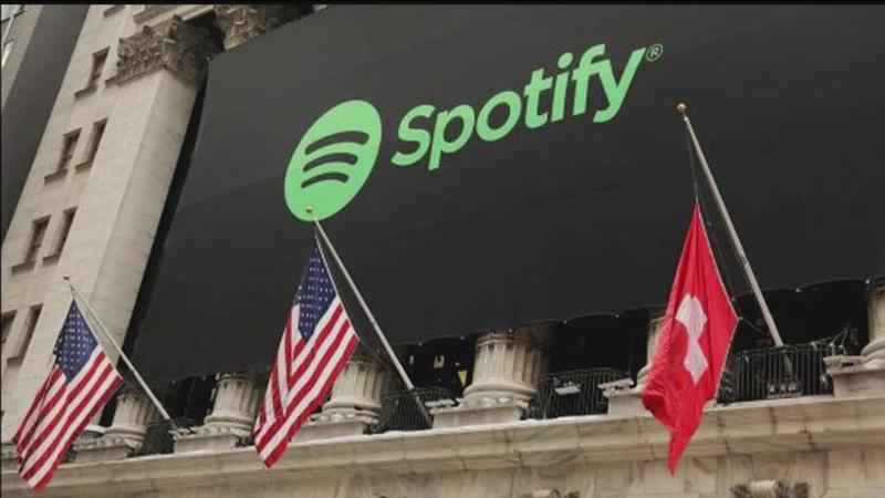 Spotify is top of the charts with its own No 1