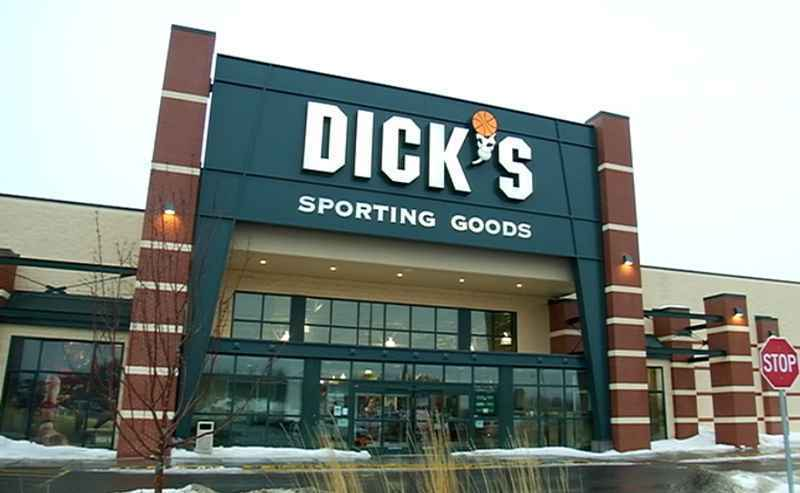 What's happening to the guns being pulled from the shelves at Dick's?
