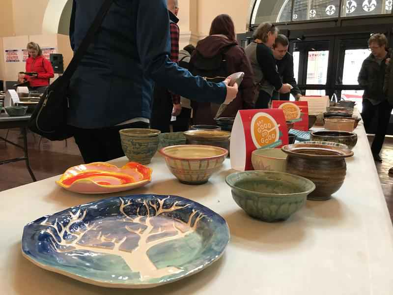 Dozens Support Fight Against Hunger at Sea of Bowls Event