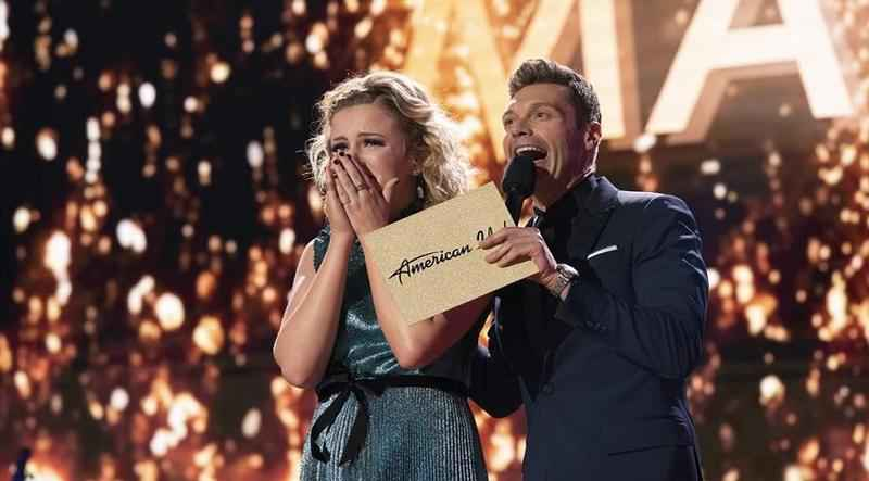 Maddie Poppe was named the winner of American Idol on Monday.