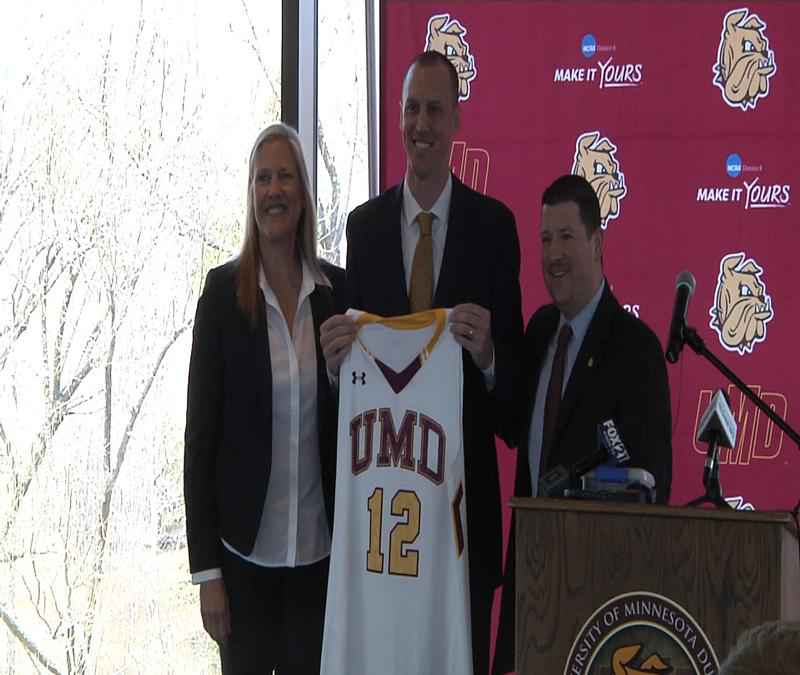 Justin Wieck Hired as New UMD Men's Basketball Coach | www.WDIO.com