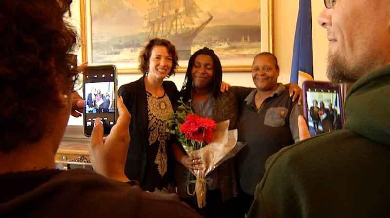 Telisha Madison was honored with a Mayoral Proclamation on Friday for her hard work and determination in building a successful career with Center City Housing in Duluth.