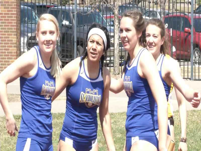 The St. Scholastica women's team took the title as the UMAC Outdoor Championships.