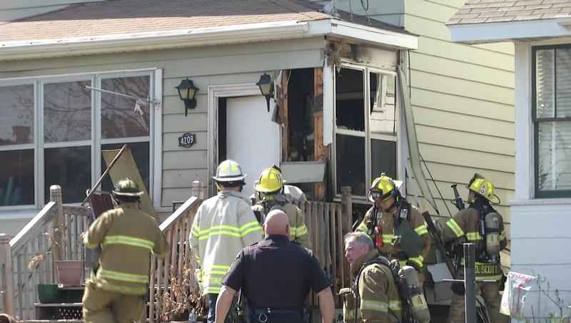 Firefighters say a discarded cigarette caused a fire in West Duluth on Tuesday.