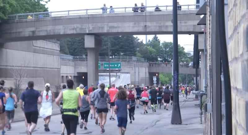 Grandma's marathon brought in thousands of tourists, spectators, and runners Saturday.�