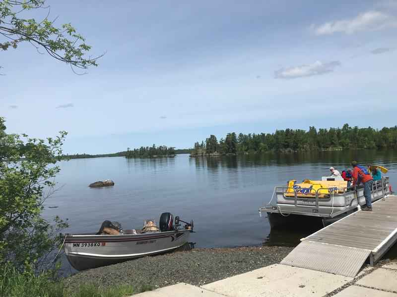 A new campground offers plenty of amenities at Lake Vermilion.