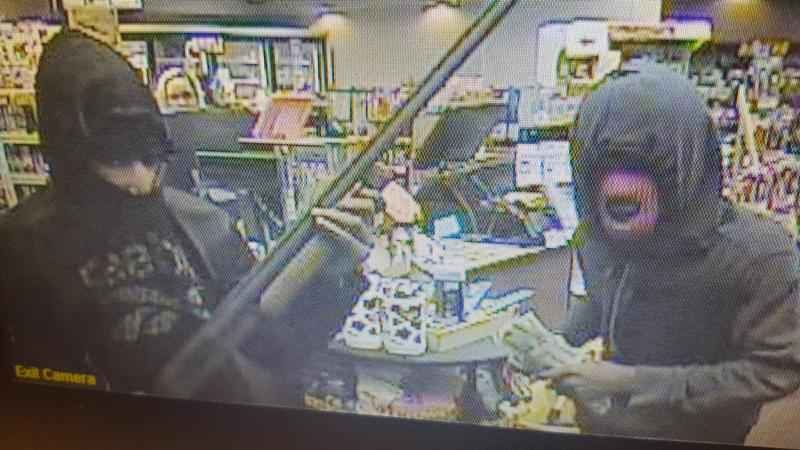 The Duluth Police Department is asking for help in locating two people involved in an armed robbery that took place Monday night.