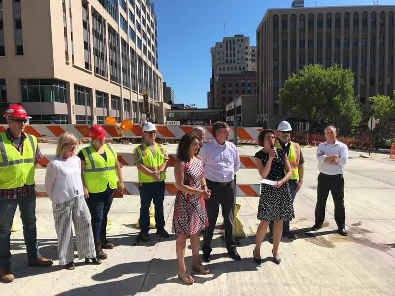 5th Avenue West Reopens as Superior Street Reconstruction Continues
