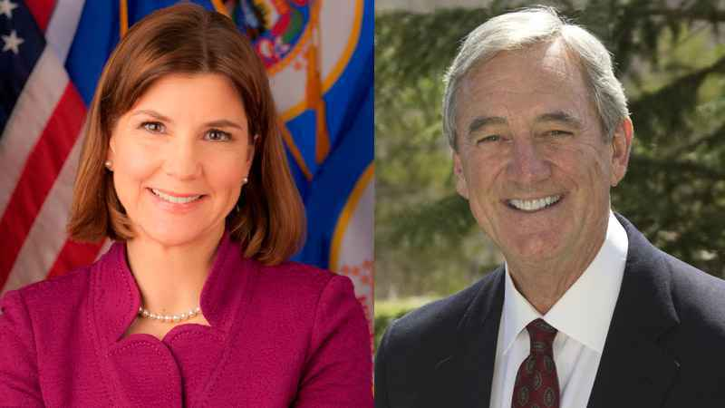 Rep. Rick Nolan is staying on as Lori Swanson's running mate in Minnesota's race for governor despite criticism of the way he handled a former aide accused of sexual harassment.