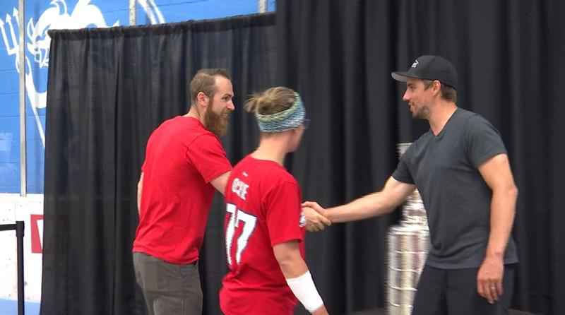 The community of Virginia had the unique opportunity on Sunday to meet Stanley Cup winner, and hometown hero Matt Niskanen, who brought the Stanley Cup to Virginia.