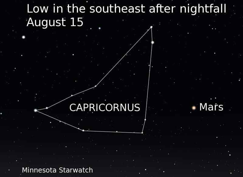 August Starwatch: Four Beacons in the Southern Sky