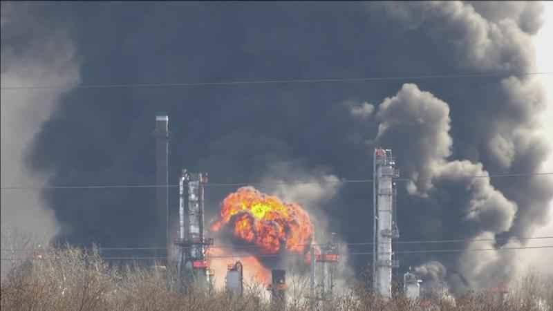 The federal investigation continues into the April 26 Husky refinery explosion and fire in Superior.