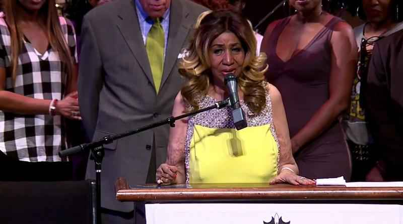 Songs by Aretha Franklin are topping the charts after her death.