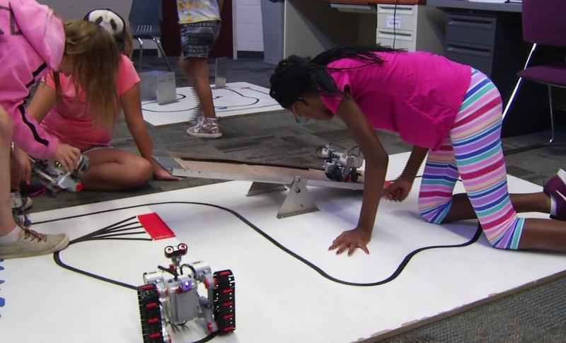 The annual Lego Robotics Camp gave kids at the Boys and Girls Club time to build their own robots!