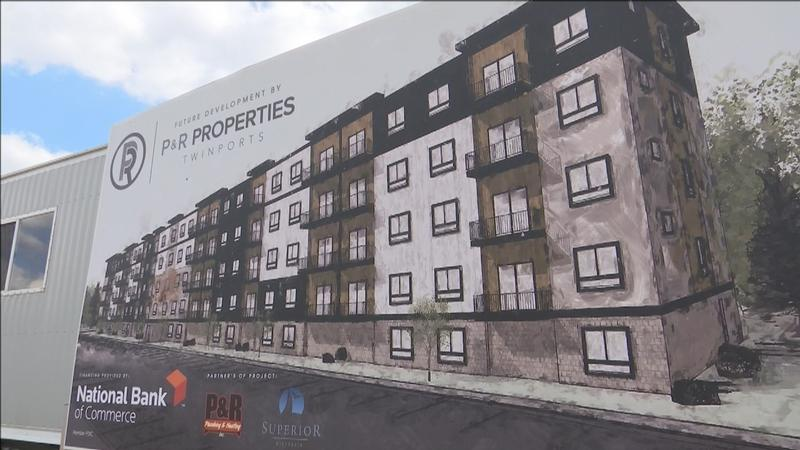 Building Rendering for 320 North in Superior