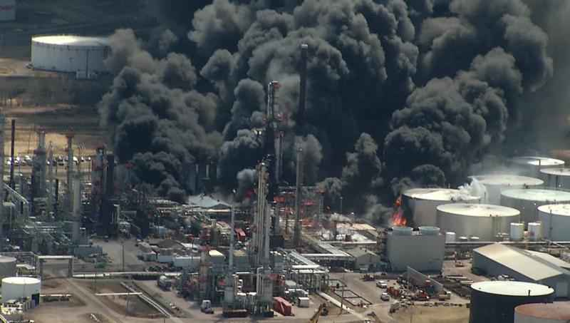 Seven workers who say they were injured in the April 26 Husky Oil Refinery explosion and fire have filed a civil lawsuit against Husky.