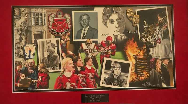 Duluth East High School celebrated their annual Hall of Fame induction on Saturday and unveiled a new mural in the process.
