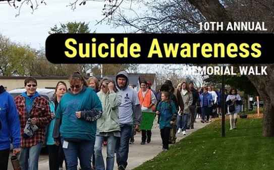 The Suicide Awareness Memorial Walk is coming up on Saturday in Carlton.