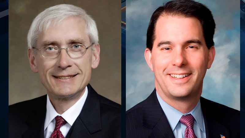 Republican Gov. Scott Walker and his DFL opponent Tony Evers covered several topics at their first debate hosted at the Madison Market.