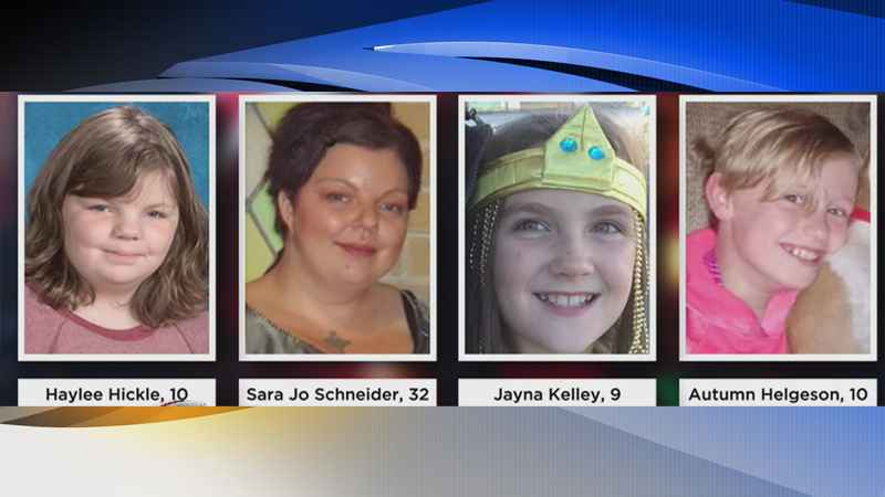 Mourners Say Goodbye to 3 Girl Scouts, Mother