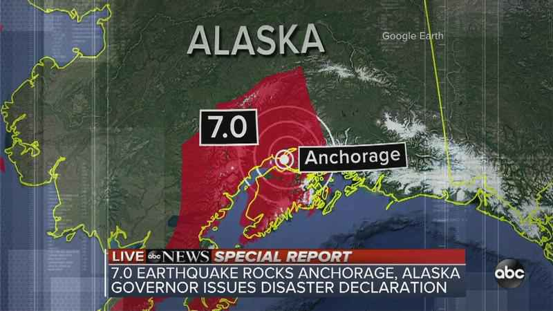 Anchorage Earthquake: Sarah Palin's Home Damaged
