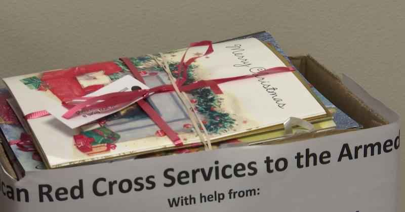 The American Red Cross Northland Chapter is making sure local service members and veterans feel thanked and honored during the holidays by sending Holiday cards.