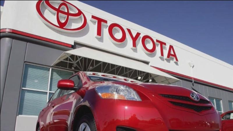 Toyota recalls nearly 143,000 SUV's and pickups.