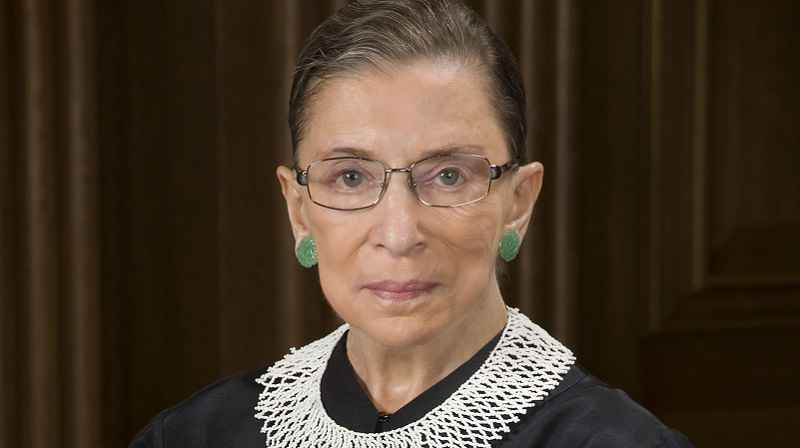 Supreme Court Justice Ruth Bader Ginsburg is up and working as she recuperates from cancer surgery.
